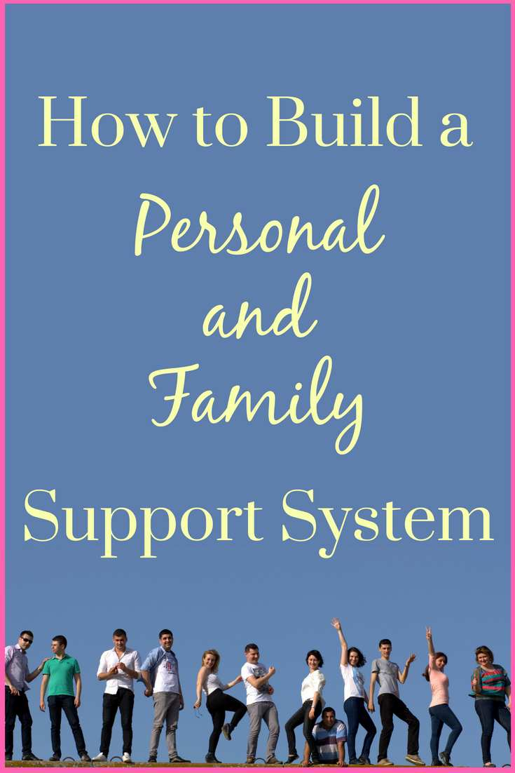 Building a family support system for yourself is a skill, it doesn't just happen out of nowhere. Plus, leaving things to chance will bring you random results. The need for a support system is not only to have a soft place to fall or who to ask for help but also, being connected to other people is giving us the opportunity to be useful, to put our skills and knowledge to good use, to bring out the best in us.