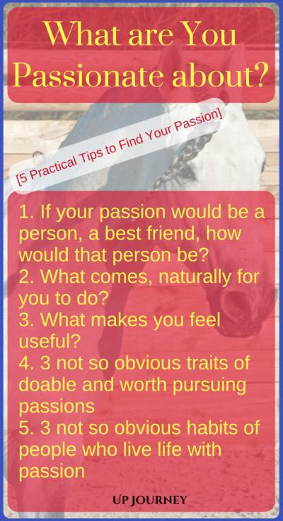 How to find your passion in life