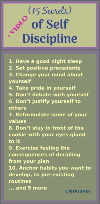 How to Have Self Discipline Tips