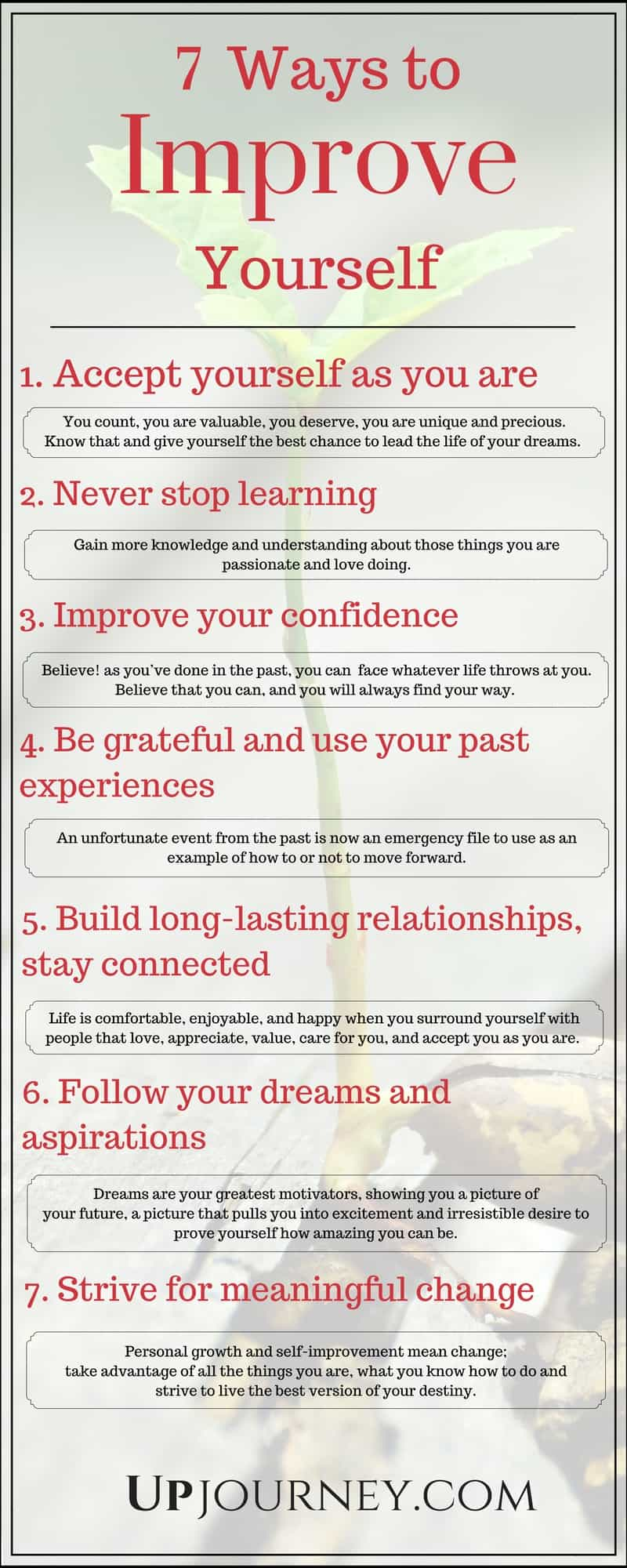7 Ways to Improve Yourself Every Day