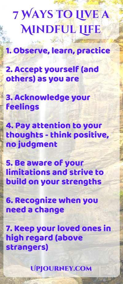Live a Mindful Life
