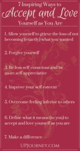 How to Love and Accept Yourself as You Are