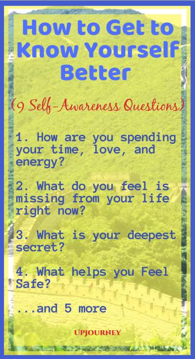 How to Get to Know Yourself Better - 9 Questions