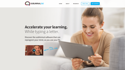 Subliminal 360 Software Learning