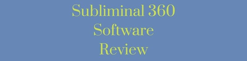 Subliminal 360 Software Reviews
