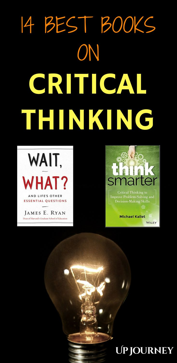 The aim of improving your skill of critical thinking isn't just to be able to reason and give logical arguments about a subject skillfully; your goal is to get to the right answer, to make the right decisions and choices for yourself and others.
