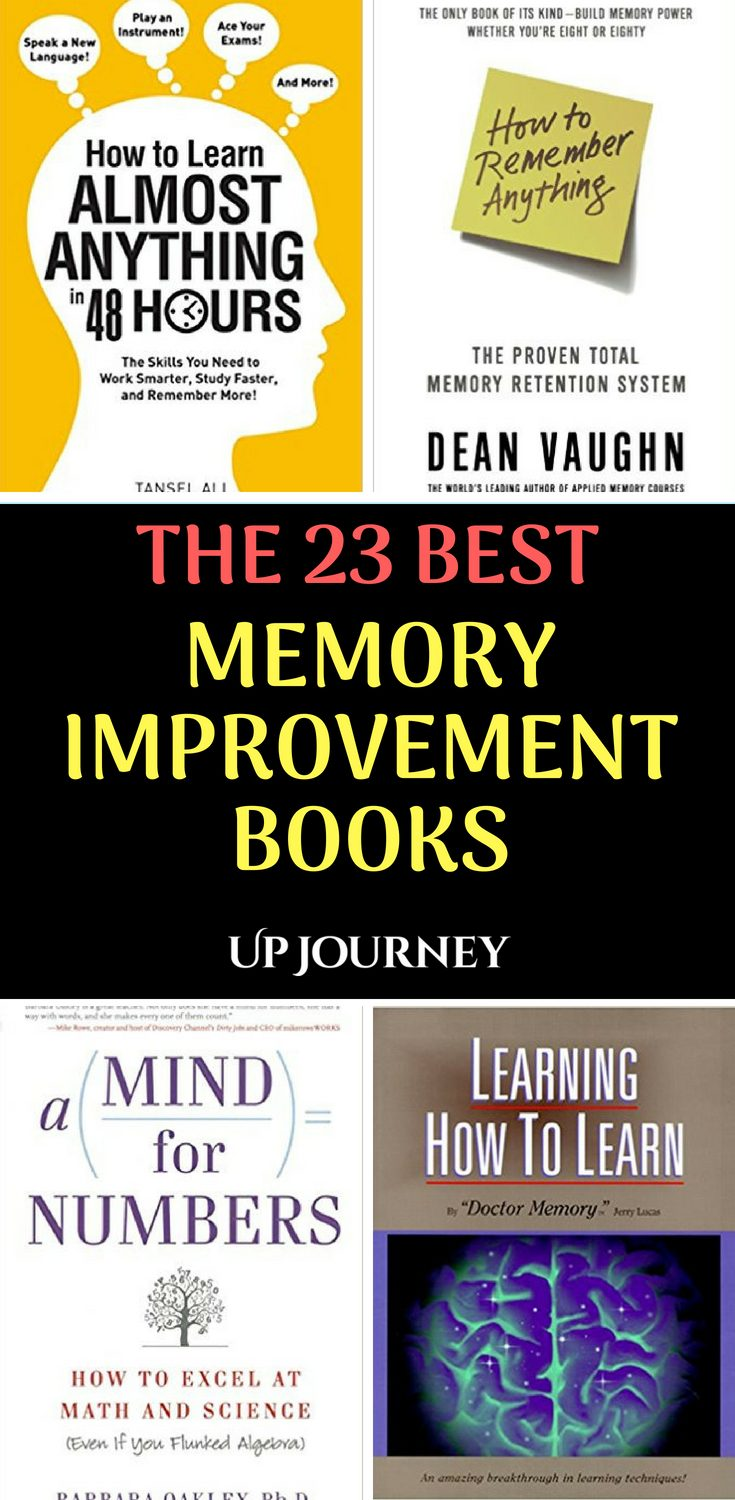 In this list, you'll discover the best memory improvement books; but first, let's talk for a few short minutes about memory in general so that you can choose easier what is the perfect fit (book) for your particular needs.