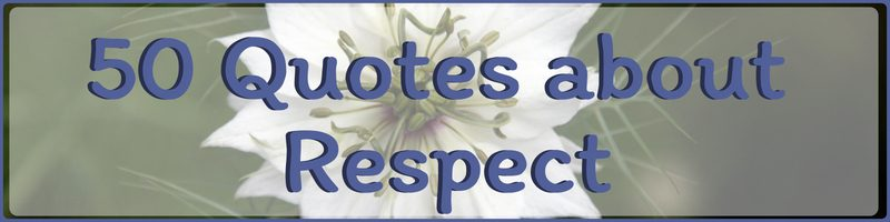 Respect Quotes Cover
