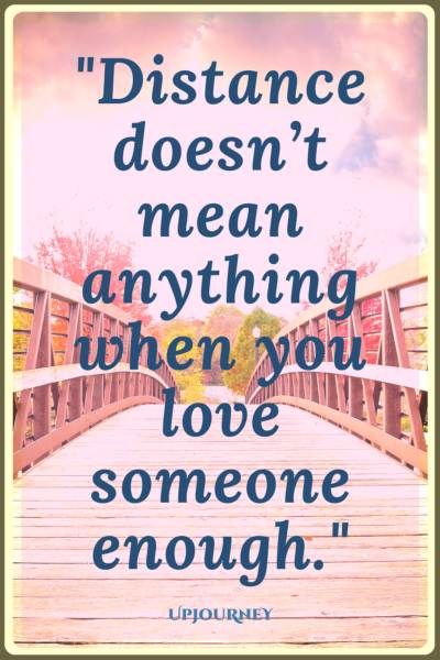 Image of: Cute Love Quotes Distance Doesnt Mean Anything When You Love Someone Enough quotes cute Upjourney 75 cute Happy Couple Quotes in 2018