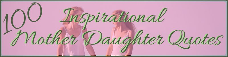 Mother Daughter Quotes Cover