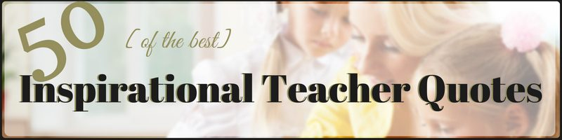 Teacher Quotes Cover