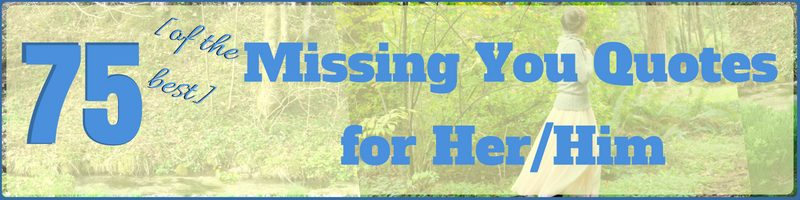 Missing You Quotes Cover