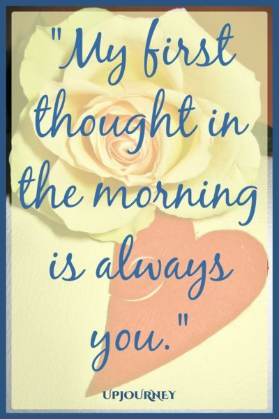 My first thought in the morning is always you. #quotes #relationship #love #missingyou