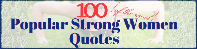 Strong Women Quotes Cover