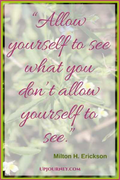 Allow yourself to see what you don't allow yourself to see. #quotes #books #toread #bookworm #hypnosis