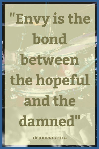 Envy is the bond between The hopeful and the damned. #quotes #PinkFloyd #music