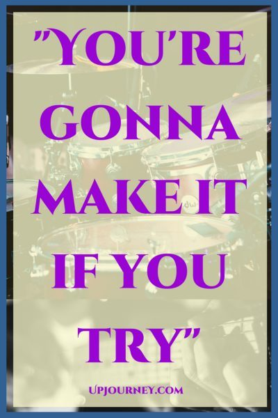 You're gonna make it if you try. #quotes #PinkFloyd #music