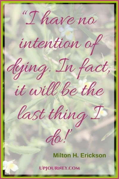I have no intention of dying. In fact, it will be the last thing I do! #quotes #books #toread #bookworm #hypnosis