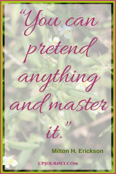 You can pretend anything and master it. #quotes #books #toread #bookworm #hypnosis