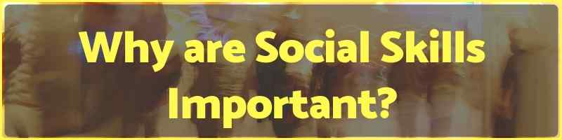 Why are Social Skills Important Cover