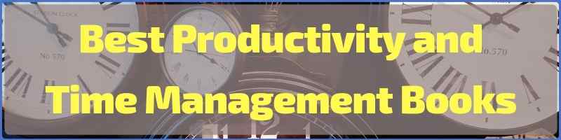 Best Productivity And Time Management Books Cover