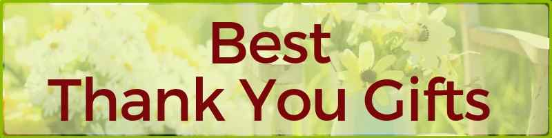 Best Thank You Gifts Cover