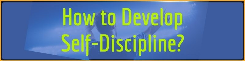 How to Develop Self Discipline Cover