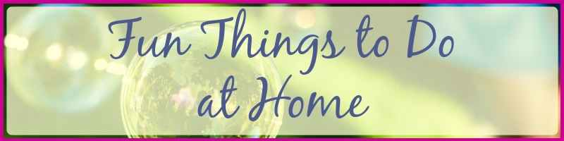 Fun Things To Do At Home Cover