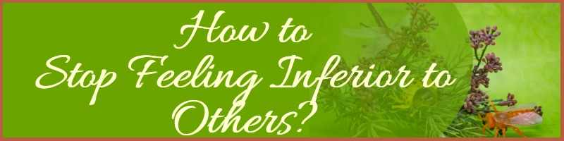 How To Stop Feeling Inferior To Others Cover