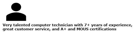 talented computer technician