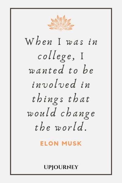 best elon musk quotes on innovation space work