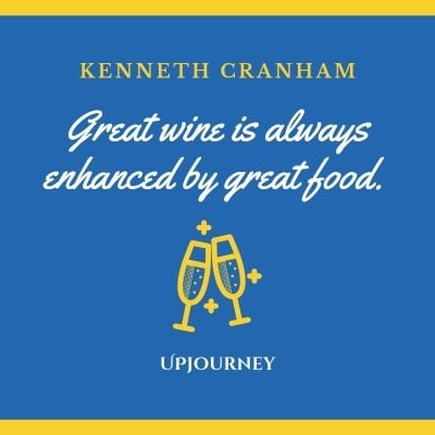 Great wine is always enhanced by great food. - Kenneth Cranham #wine #quotes #great #wine #enhanced #by #great #food