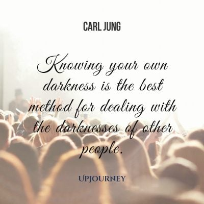 """Knowing your own darkness is the best method for dealing with the darknesses of other people."" — Carl Jung #dark #quotes #darkness"