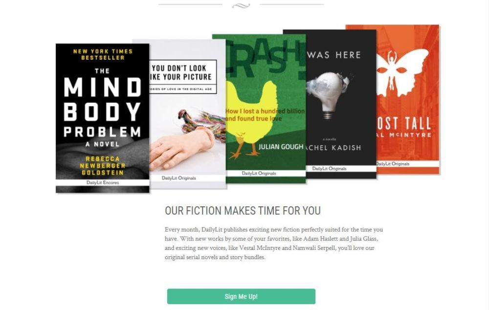 Dailylit read fiction books online
