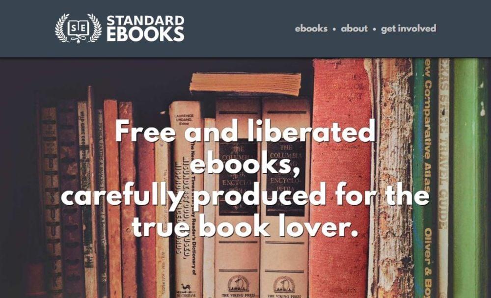 Standard Ebooks download free ebooks