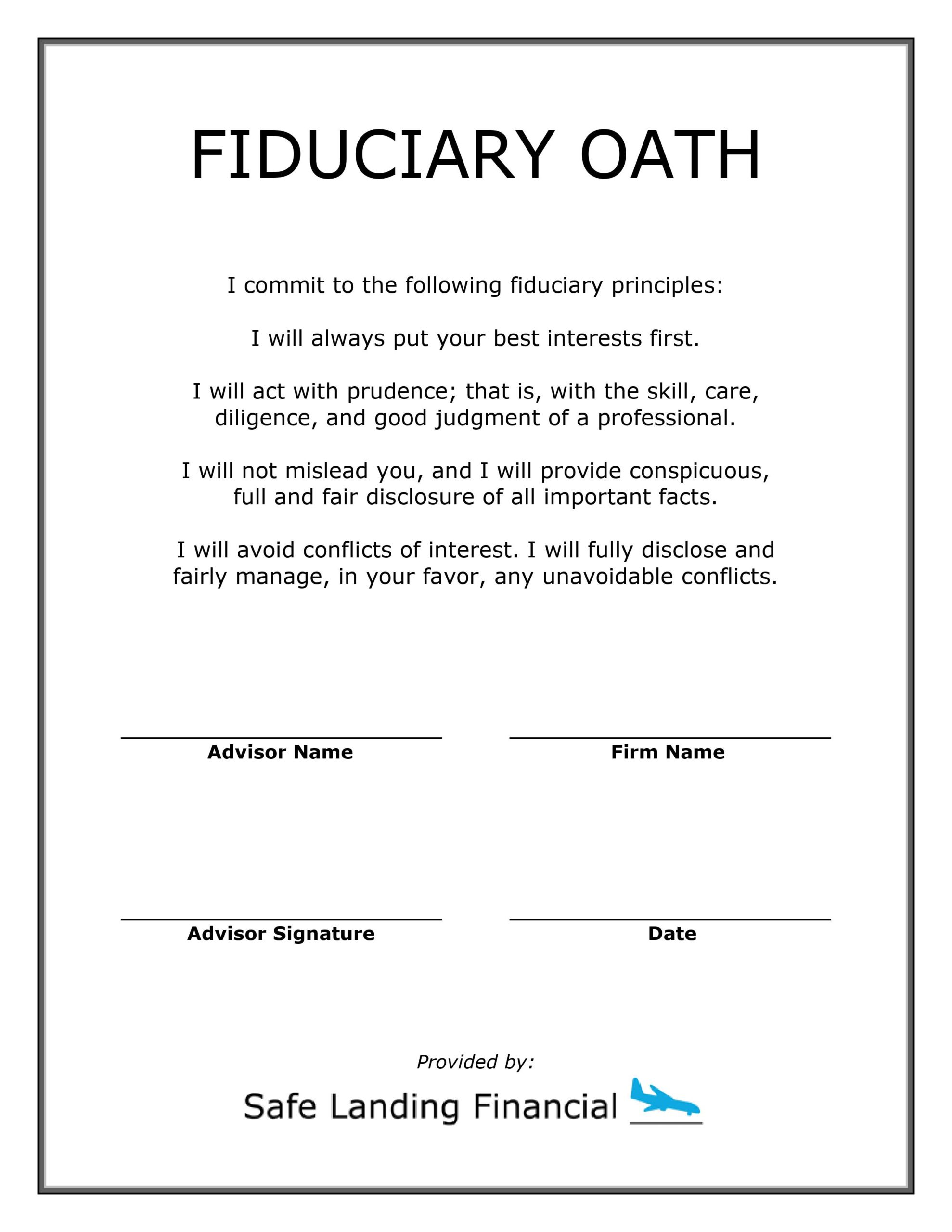 Brian Fry - Blank Oath